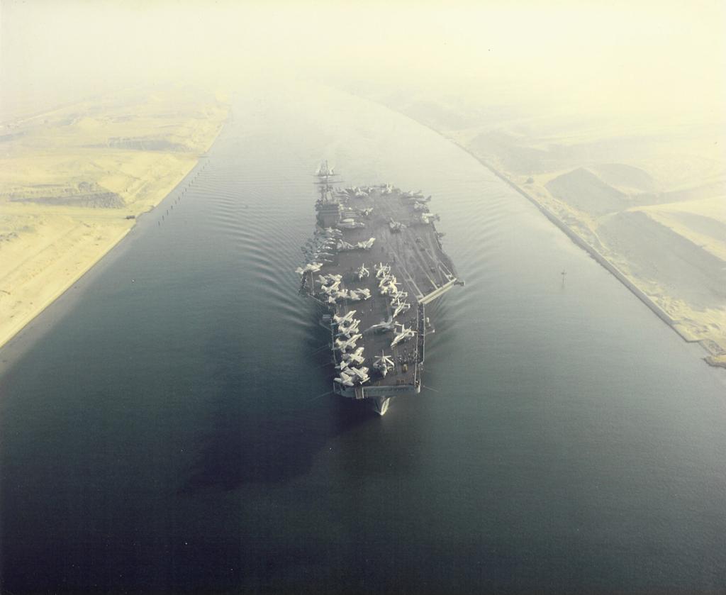 FILE: USS Eisenhower Suez Canal 02.jpg